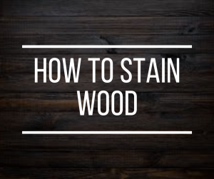 Stain Wood Guide