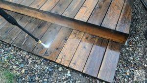 how to waterproof wood - step1