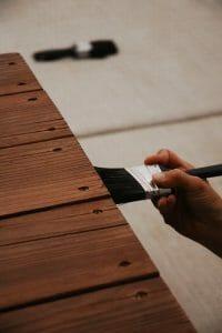 how to waterproof wood - step4