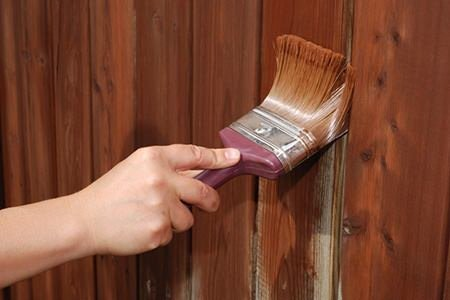 wood painting tips