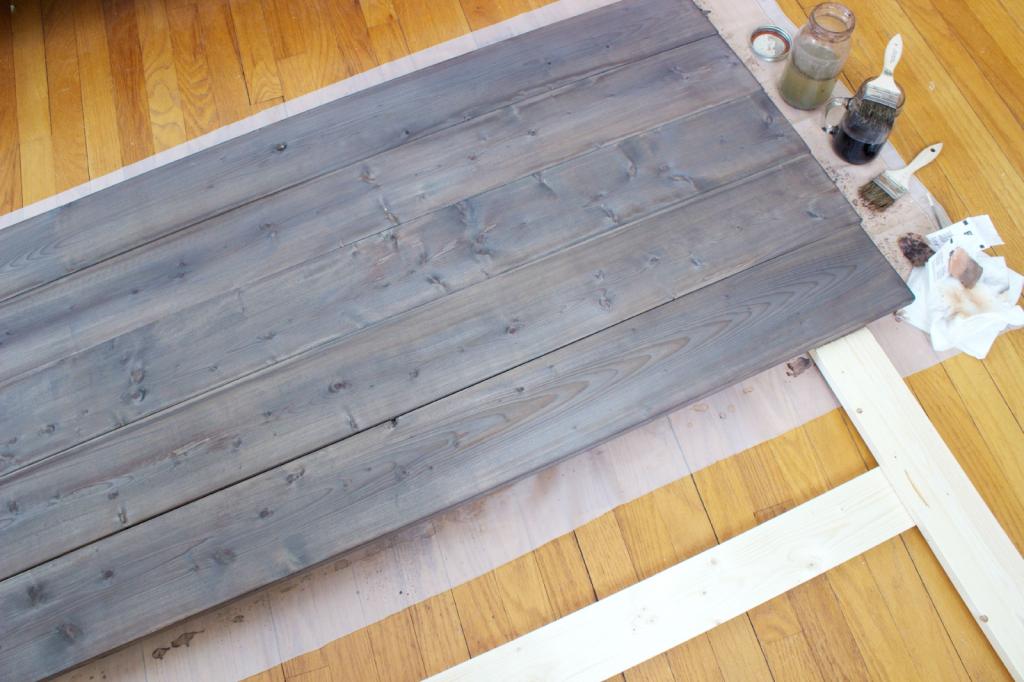 Aging Wood Using Steel Wool And Vinegar