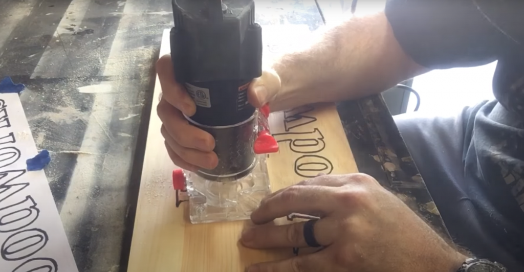 How To Engrave Wood With A Router