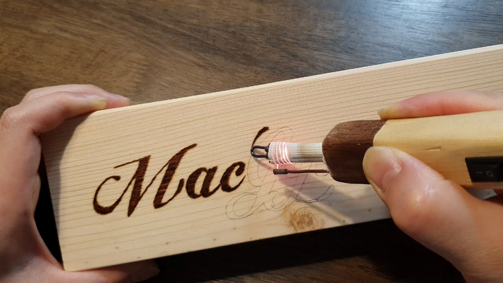 How To Engrave Wood With A Soldering Iron