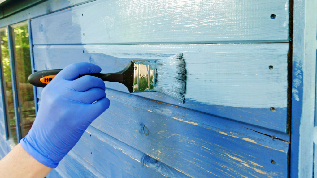 Oil-Based Paint For Wood