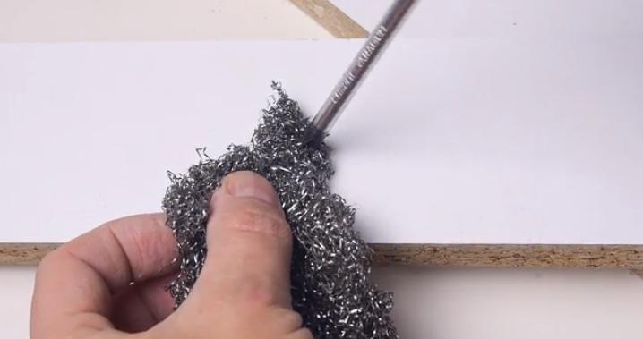 Use Steel Wool