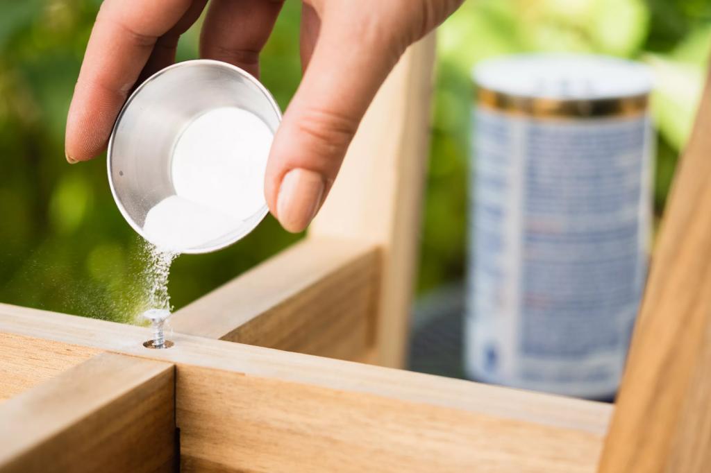 Use An Abrasive Powder