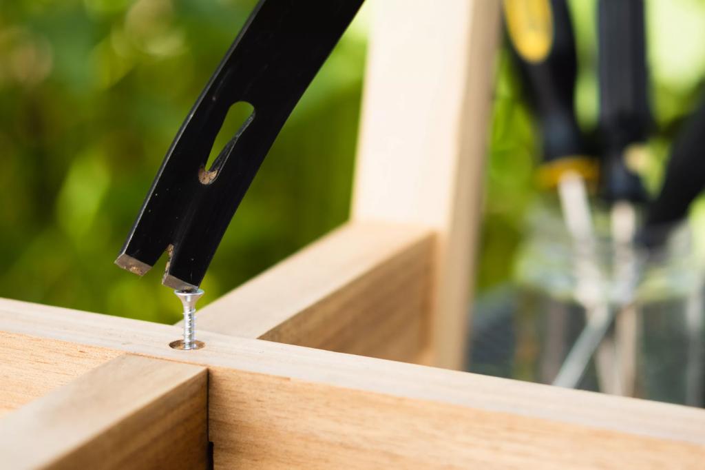 Cut A Slot For A Flat-Head Screwdriver