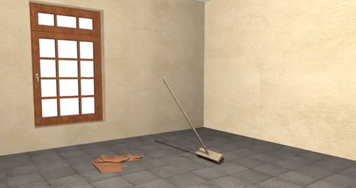 How To Install Laminate Wood Flooring: Clean The Subfloor