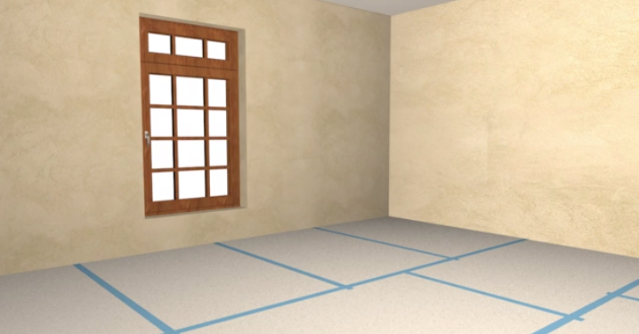 How To Install Laminate Wood Flooring: Install The Underlayment Or Vapor Barrier