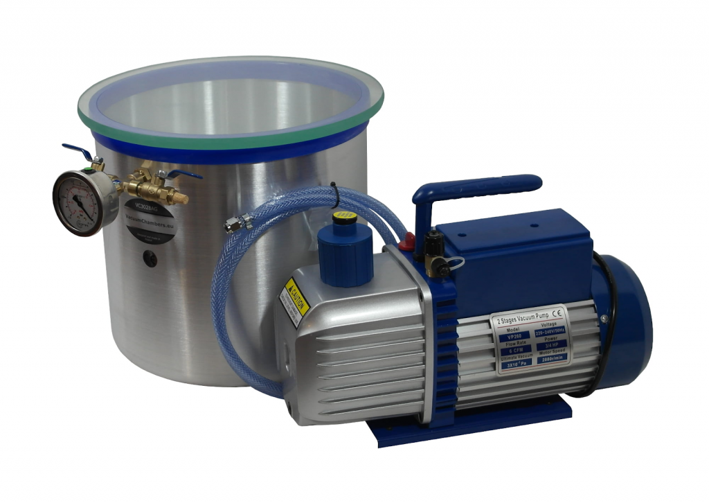 Vacuum Chambers For Stabilizing Wood